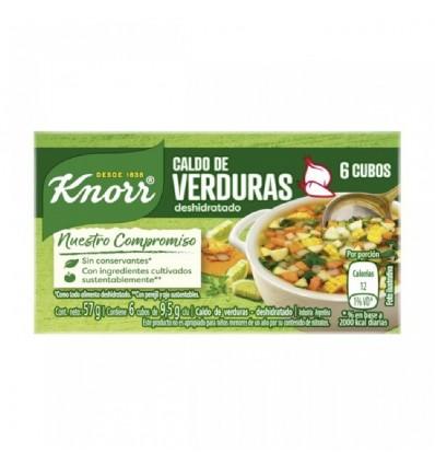 KNORR CALDOS VERDURA * 6 CUB